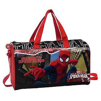 Spiderman Borsa Viaggio e Palestra Red City
