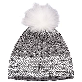Nevica Womens Ladies Diamond Soft Warm Cosy Knit Snow Beanie Hat Winter Bobble