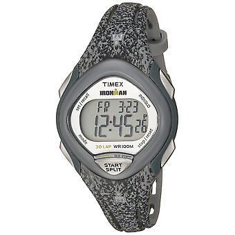 Timex Womens Ironman slanke 30 grijs gespikkelde hars Strap Watch TW5M08600