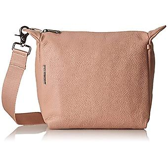 Mandarin duck Mellow Leather Strap - Women Pink Shoulder Bags (Dusty Rose) 10x24x25.5 cm (B x H T)