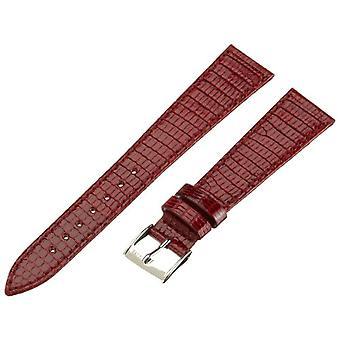 Morellato bracelet de cuir 16 mm homme de Livourne A01U2116372081CR18 bordeaux