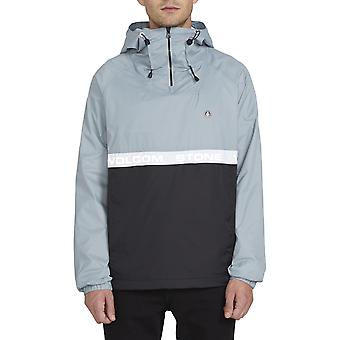 Volcom Fezzes Pop Over Jacket in Cool Blue