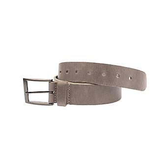 Grey Volnerf Leather Men's Belt