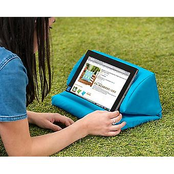 Turquoise Water Resistant Pull Out Faom Laptop Tablet Stand
