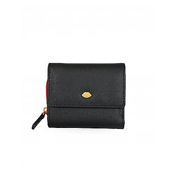 Lulu Guinness Jodie Small Leather Wallet