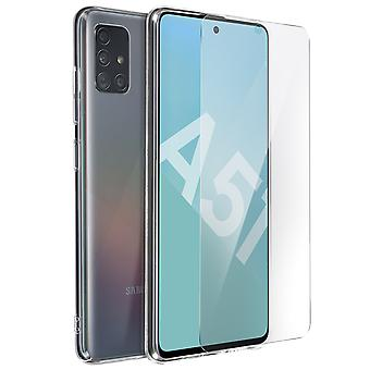 Soft Silicone Protective Case Samsung Galaxy A51 Resistant- ImaK, Translucent