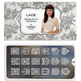 MoYou London Nail Art Image Plate - Pizzo 05 (MCLAC)