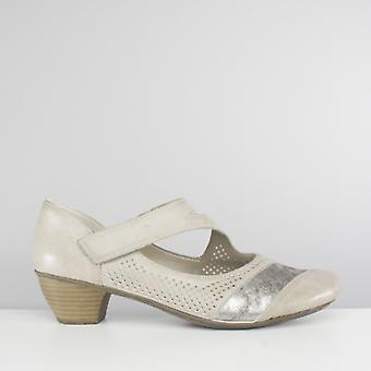 ريكر 41743-80 السيدات تلمس ربطة ماري جين أحذية الجليد