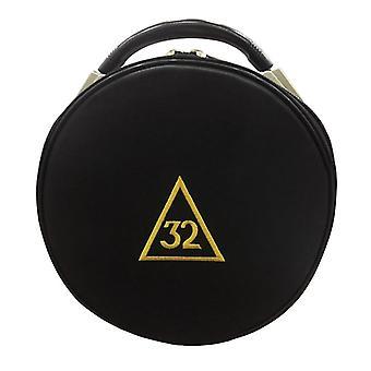 Masonic scottish rite 31 32 33 degrees hat/cap cases