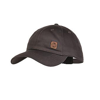 Buff Curve Baseball Cap ~ Solid pewter grey