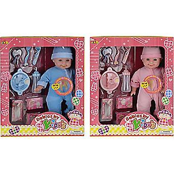 Babypop met Geluid en meerdere accessoires
