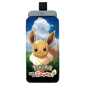 Pokemon Eevee Pull-up Mobiililaukku
