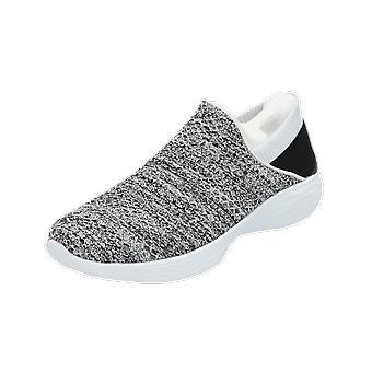 Skechers YOU أحذية رياضية نسائية حذاء أبيض بدوره الأحذية