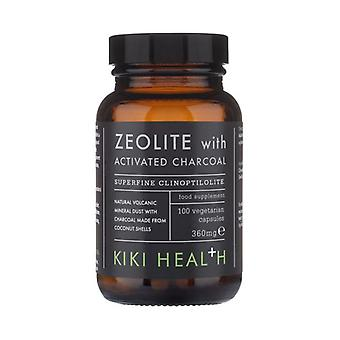 Kiki Health Zeolite with Activated Charcoal Vegicaps 100