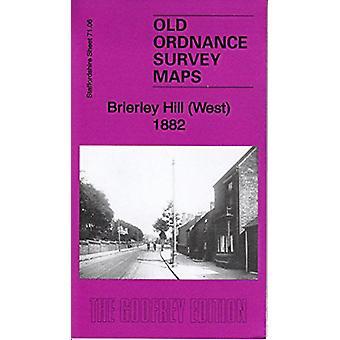 Brierley Hill (West) 1882 - Staffordshire Sheet 71.06a by Brierley Hil