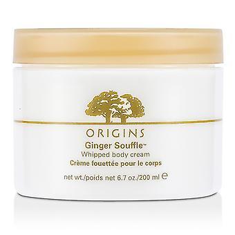 Origins Ginger Souffle Whipped Body Cream - 200ml/6.7oz