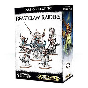 Games Workshop-Warhammer Age of Sigmar-comece a colecionar Raiders Beastclaw