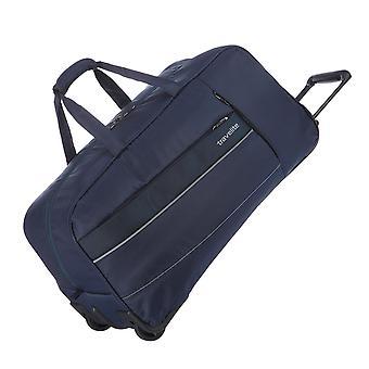 travelite kite trolley bolsa de viaje M, 2 ruedas, 33 cm, 68 L, azul