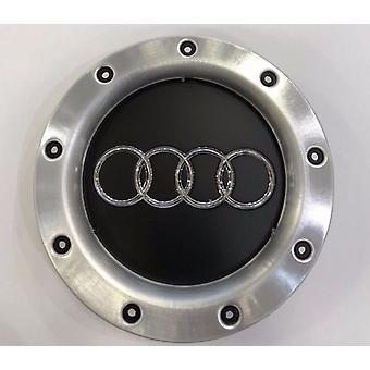 Black/Silver Audi Wheel Centre Cap Hub Badge 147mm 1PCS For TT A1 A3 A4 A5 A6 A7 A8 Q7