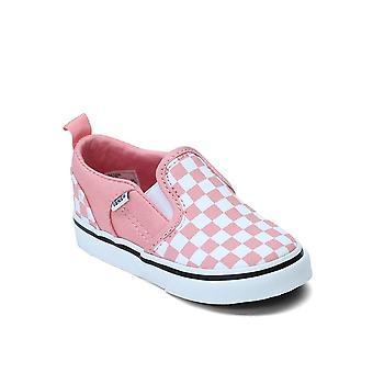 Vans TD Asher V Checkerboard VN000XE9WF9 universales zapatos para bebés de verano