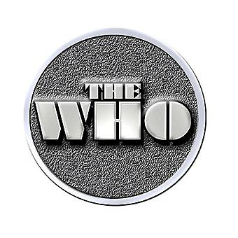 The Who Pin badge Stencil band Logo new Official Metal