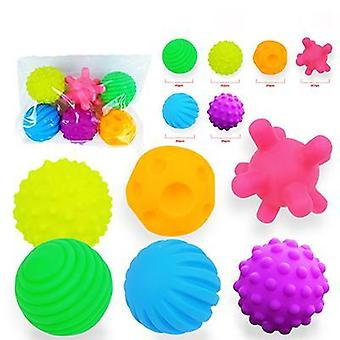 Baby Rubber Hand Ball -textured Touch Ball For Sensory Fun, Bath Time, Type
