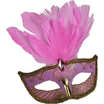 Masque de carnaval Accent Pk/Gd pour Masquerade