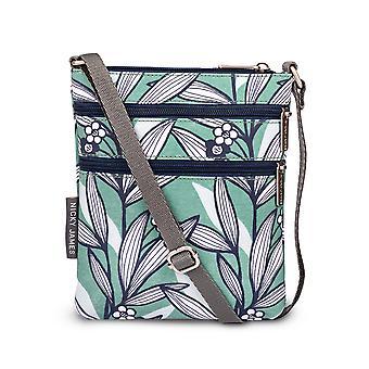 Nicky James Wildflower Green Mini Crossbody Bag