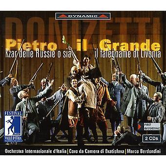 G. Donizetti - Donizetti: Pietro Il Grande [CD] USA import