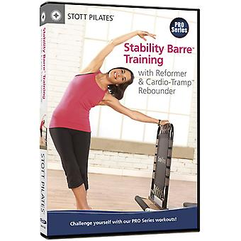 Stability Barre Training with Reformer & Cardio [DVD] USA import
