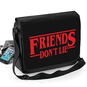 Fremde Dinge - Freunde nicht 't liegen Tasche - Schultergurt - Schultasche