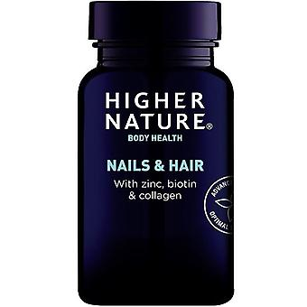 Higher Nature Nails & Hair Vegetable Capsules 120 (NAH120)