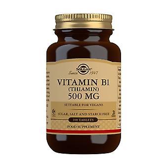Vitamin B1 100 tablets of 500mg