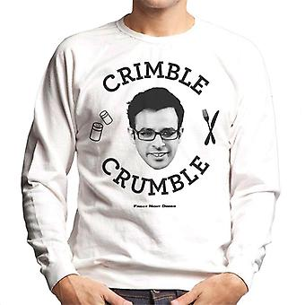 Friday Night Dinner Adam Crimble Crumble Men's Sweatshirt