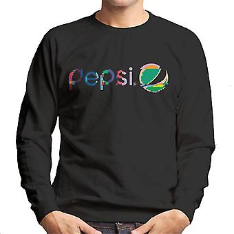 Pepsi Glitch Logo Men's Sweatshirt