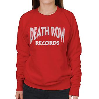 Death Row Records Logo witte vrouwen Sweatshirt