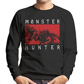 Monster Hunter Anjanath Roar Men's Sweatshirt