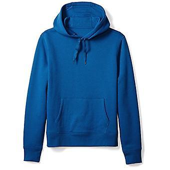 Essentials Men's Hooded Fleece Sweatshirt, Blue, Medium