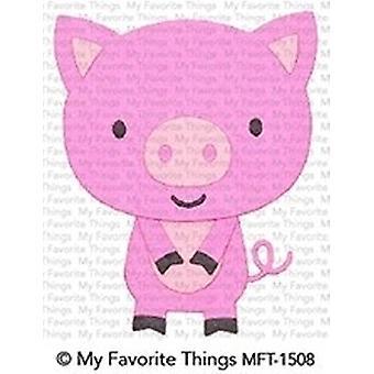 My Favorite Things Little Piggy Die-namics