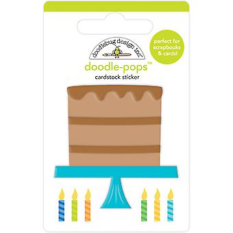 Doodlebug Design Chocolate Cake Doodle-Pops