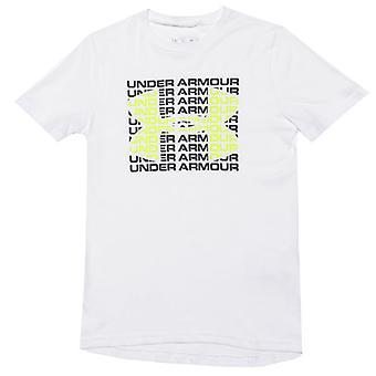 Boy's Under Armour Infant Wordmark T-Shirt in White