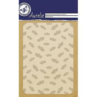 Aurelie Wooden Shoes Background Embossing Folder