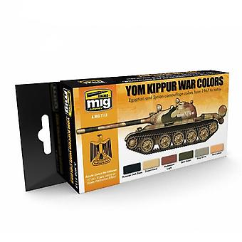 Ammo by Mig Yom Kippur War Colors Acrylic Paint Set