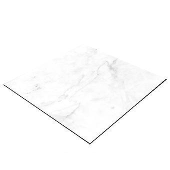 BRESSER Flatlay Hintergrund für Legebilder 40x40cm Heller Marmor