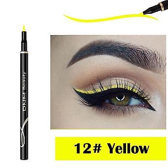 Neon színes, vízálló és gyors száraz sima szemceruza toll