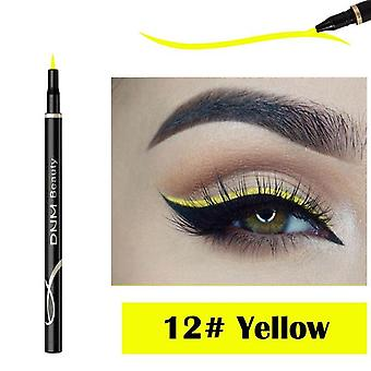 Penna eyeliner liscia al neon colorata, impermeabile e veloce