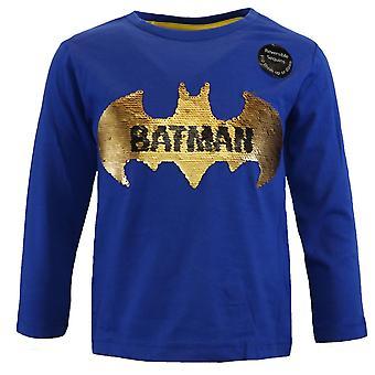 Batman boys t-shirt reversible sequins