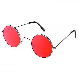 Sonnenbrille Unisex    silber/matt silber/rot (20-112)