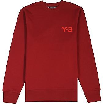 Y-3 Classic Sweatshirt Rot