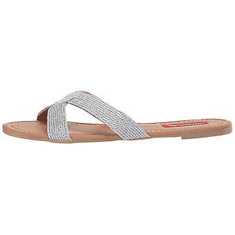 UNIONBAY Women's Shoes Becky Fabric Open Toe Mules